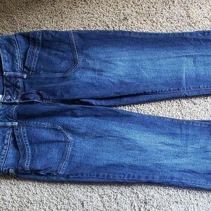 27 inches  aeropotal jeans. Dark wash